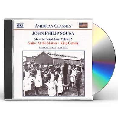 John Philip Sousa MUSIC FOR WIND BAND 2 CD