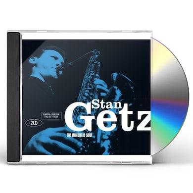 Stan Getz IMMORTAL SOUL CD