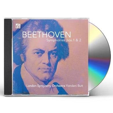 Ludwig van Beethoven SYMPHONIES 1 & 2 CD