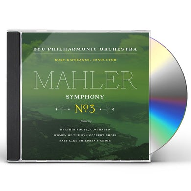 Gustav Mahler SYM 3 IN D MINOR CD