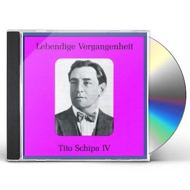 Tito Schipa LEGENDARY VOICES: SCHIPA TITO 4 CD