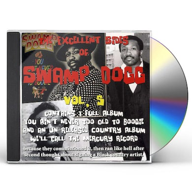 EXCELLENT SIDES OF SWAMP DOGG 5 CD