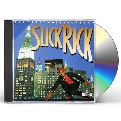 GREAT ADVENTURES OF SLICK RICK CD