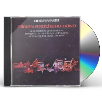 The Allman Brothers Band  BEGINNINGS CD