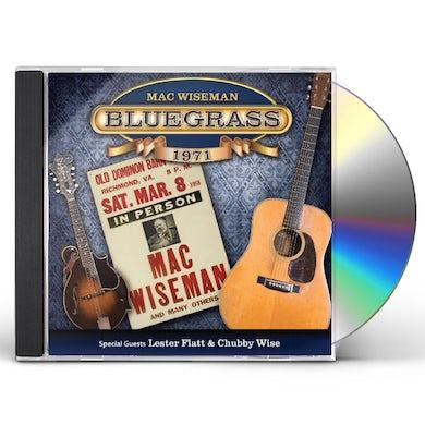 Mac Wiseman BLUEGRASS 1971 CD