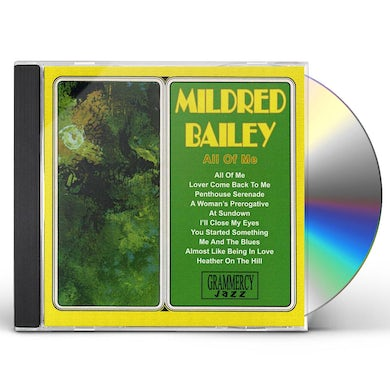 Mildred Bailey ALL OF ME CD
