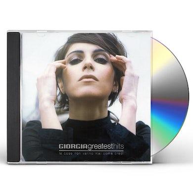 Giorgia GREATEST HITS CD