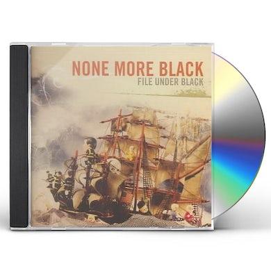 None More Black FILE UNDER BLACK CD