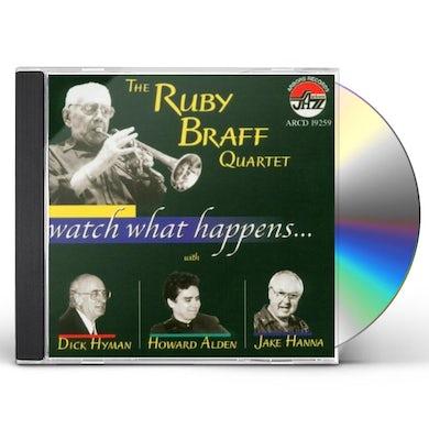 Ruby Braff WATCH WHAT HAPPENS CD