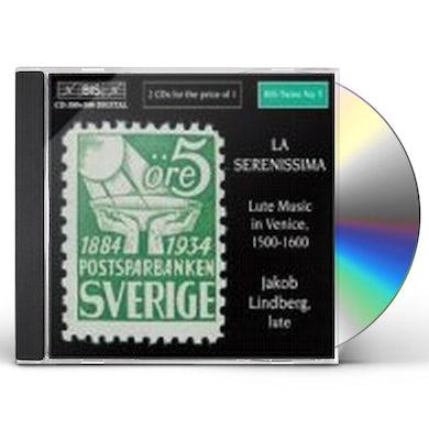Jakob Lindberg SERENISSIMA: LUTE MUSIC IN VENICE 1500-1600 CD