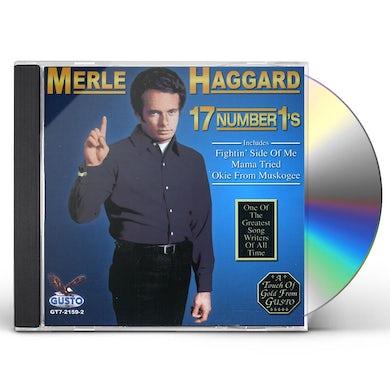 Merle Haggard 17 NUMBER 1S CD