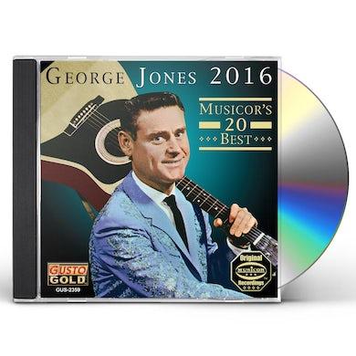 George Jones 2016: MUSICOR'S 20 BEST CD