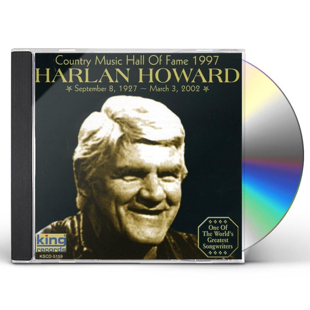 Harlan Howard COUNTRY MUSIC HALL OF FAME 1997 CD