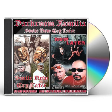 DarkRoom Familia SMILE NOW CRY LATER CD