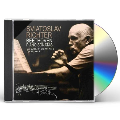 Sviatoslav Richter BEETHOVEN PIANO SONATAS NOS 3 7 & 19 CD