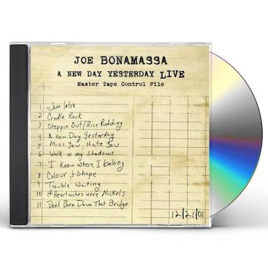 Joe Bonamassa NEW DAY YESTERDAY LIVE CD