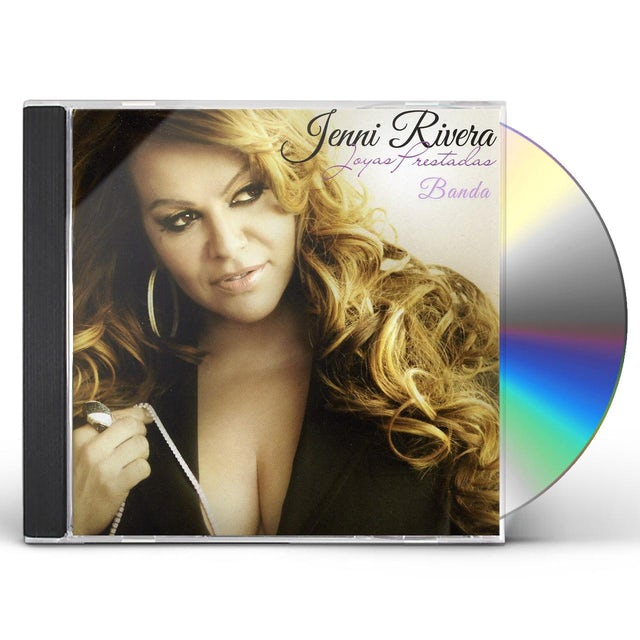 Jenni Rivera JOYAS PRESTADAS (BANDA VERSION) CD
