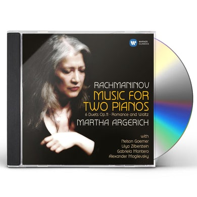 Rachmaninov WORKS FOR 2 PIANOS CD