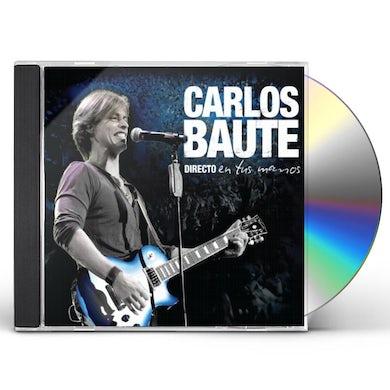 Carlos Baute DIRECTO EN TUS MANOS CRISTAL CD