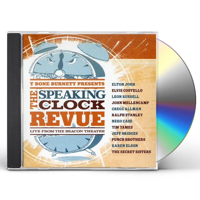 T-Bone Burnett PRESENTS: THE SPEAKING CLOCK REVUE CD