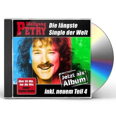 Wolfgang Petry DIE LANGSTE SINGLE DER WELT DAS ALBUM CD