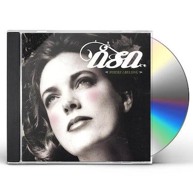 Asa WHERE I BELONG CD