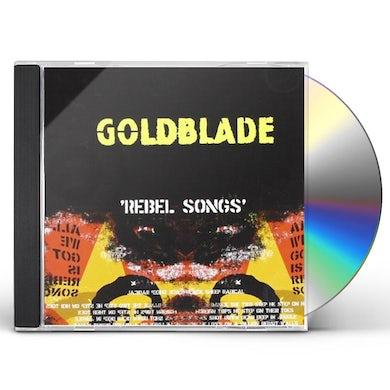 Goldblade REBEL SONGS CD