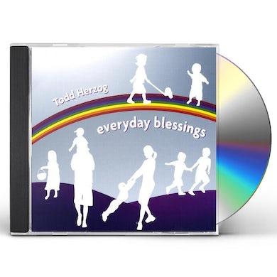 Todd Herzog EVERYDAY BLESSINGS CD