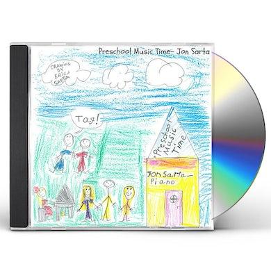 Jon Sarta PRESCHOOL MUSIC TIME CD