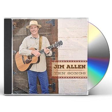 Jim Allen TEN SONGS CD