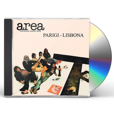 Area PARIGI-LISBONA (LIVE) CD