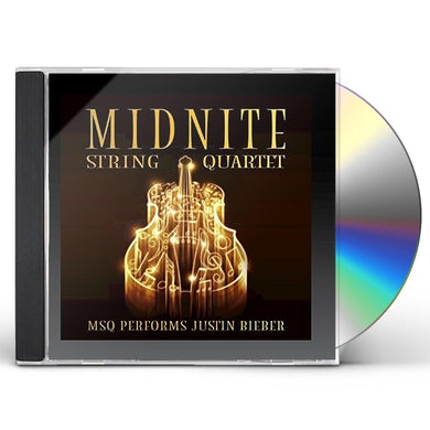 Midnite String Quartet MSQ PERFORMS JUSTIN BIEBER (MOD) CD