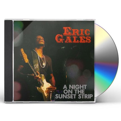 Eric Gales NIGHT ON THE SUNSET STRIP CD