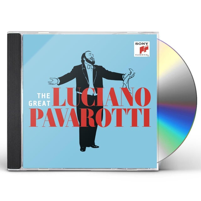 GREAT LUCIANO PAVAROTTI CD