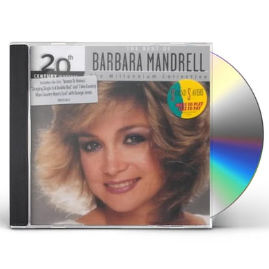Barbara Mandrell 20TH CENTURY MASTERS: MILLENNIUM COLLECTION CD