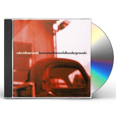 David Baerwald HERE COMES THE NEW FOLK UNDERGROUND CD
