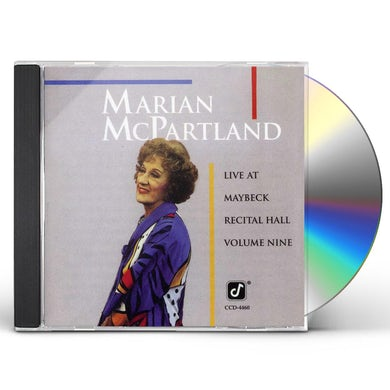 Marian McPartland LIVE AT MAYBECK 9 CD