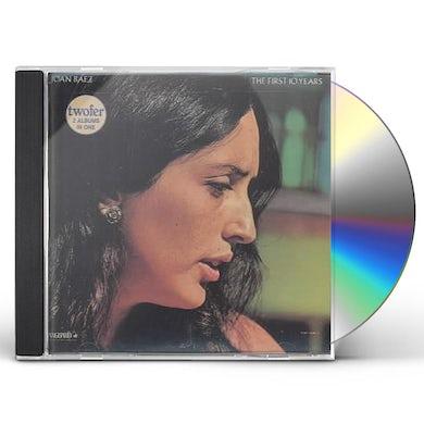 Joan Baez FIRST TEN YEARS CD