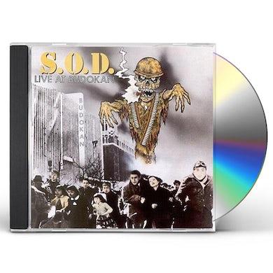 SOD LIVE AT BUDOKAN CD