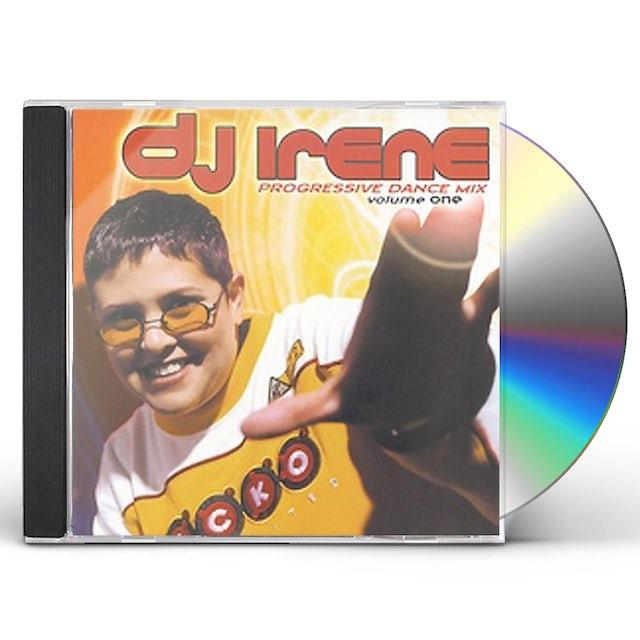 DJ Irene PROGRESSIVE DANCE MIX 1 CD