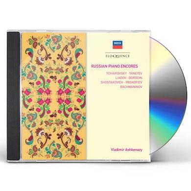 Vladimir Ashkenazy RUSSIAN PIANO ENCORES CD