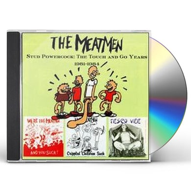 The Meatmen STUD POWERCOCK: TOUCH & GO YEARS CD