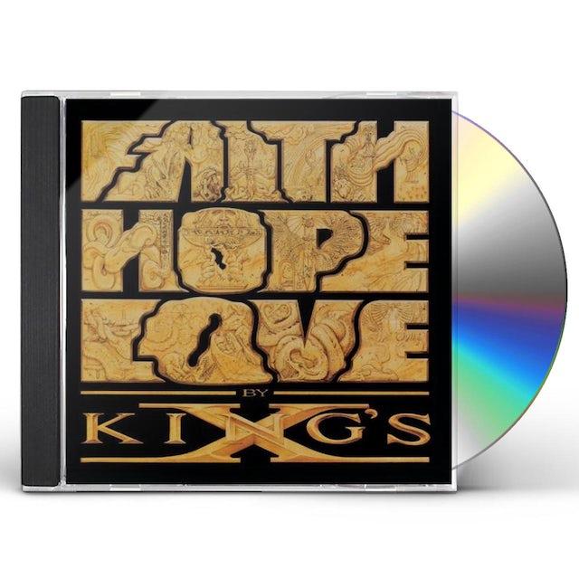 King's X FAITH HOPE LOVE CD