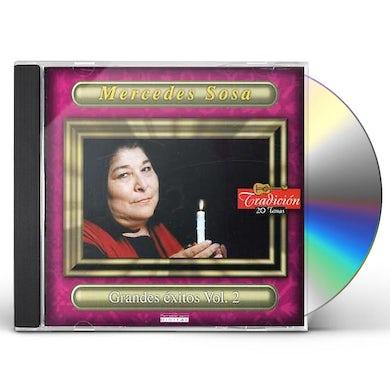 Mercedes Sosa GRANDES EXITOS 2 CD