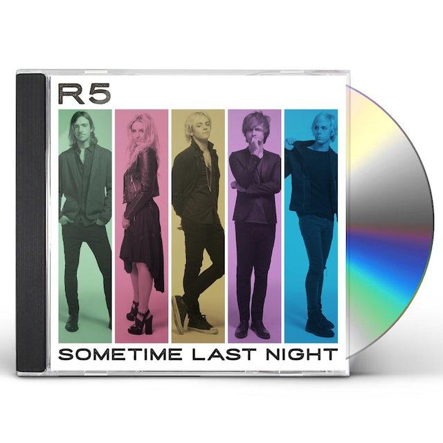 R5 SOMETIME LAST NIGHT CD