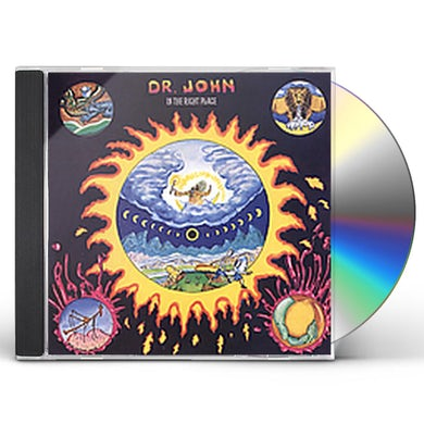 Dr. John IN THE RIGHT PLACE CD