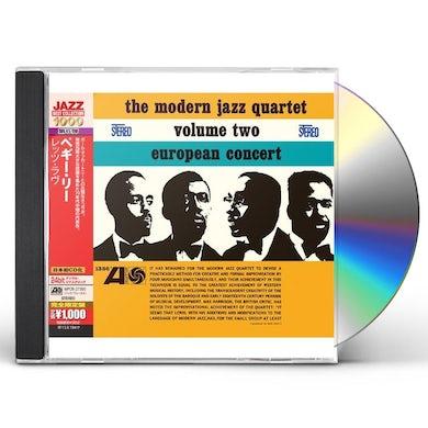 The Modern Jazz Quartet EUROPEAN CONCERT VOLUME TWO CD