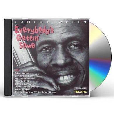 Junior Wells EVERYBODY'S GETTIN SOME CD