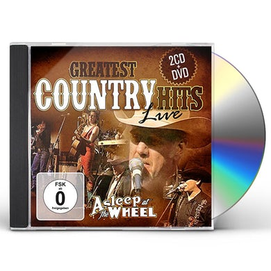 Asleep At The Wheel GREATEST COUNTRY HITS LIVE CD