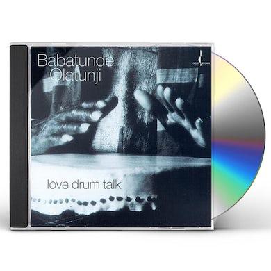 Babatunde Olatunji LOVE DRUM TALK CD